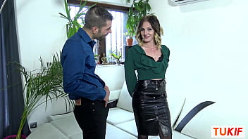 French MILF Nina Angel Does A Blowjob And Fucks In Doggystyle
