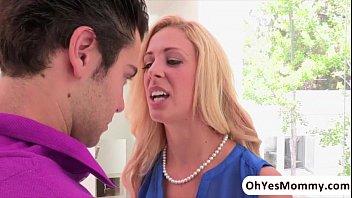 Sexy mature stepmom Cherie Deville seduces her stepdaughters boyfriend preview image