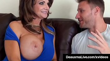 Dick Fucked Deauxma Mounts Young Stud's Throbbing Hard Cock!