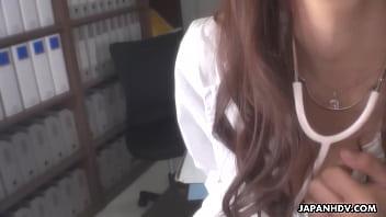 Japanese Doctor, Koi Miyamura Sucks Dick, Uncensored