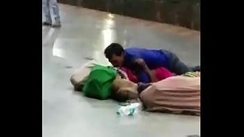 Desi couple having sex in public