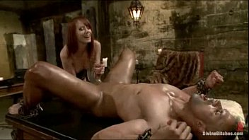 Taunting Him Mercilessly With Beautiful Pussy And Tongue