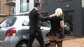 PASCALSSUBSLUTS - UK Blondie Loz Lorrimar Riding Cock Before Cumshot