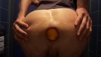 big orange in my ass