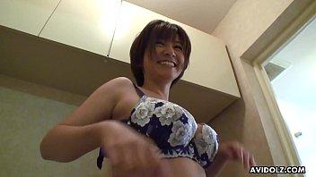 Japanese wife, Meguru Kosaka was naughty, uncensored