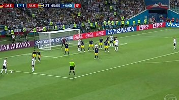 Kroos' goal against Sweden in the 44th minute of the second half