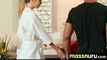 Babe Fires Nuru Massage 14