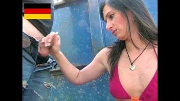 German dominant girl handjob 20 min