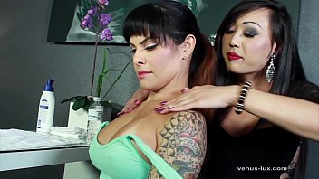 Ts pornstar chrissy Venus lux and ts foxxy suck each others cocks