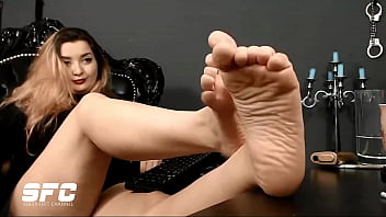 Soles feet of Colombia