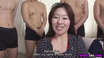 three japanese wives get into an orgy thumbnail