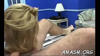 Free man bondage clips - Busty female smothering man with excellent titjob on livecam