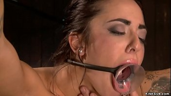 Tied Gagged And Fucked Device Bondage