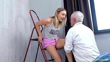 Old-n-Young.com - Dany - Broken AC gives many wild options 6 min