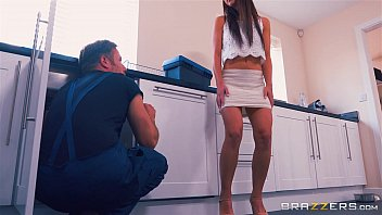 Hairy bear men getting blowjobs - Brazzers - mom helps her step daughter get some cock