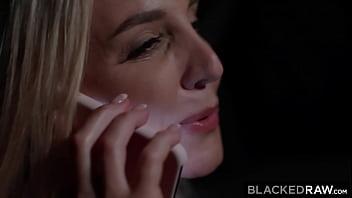 BLACKEDRAW Busty Blonde MILF loves to deepthroat huge BBC 12 min