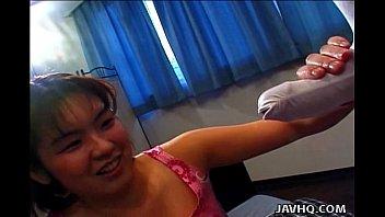 Sexy slut Misato Nakayama blowjob! 6 min