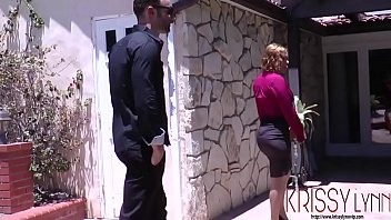 Real Estate Agent Krissy Lynn does anything to seal the deal thumbnail