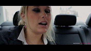 Angel Wicky's big boobs bounce while she gets her ass fucked hard by Jon Jon's BBC 15 min