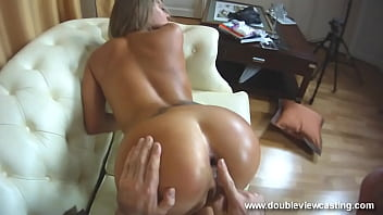 DOUBLEVIEWCASTING.COM - NESTEE SHY CLIMBS UPON COOL DONG(POV VIEW)