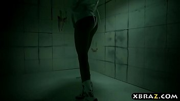 Psycho Riley Reid bangs her doctor who is in a straitjacket 6 min