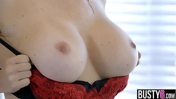 Big tits MILF in lingerie Krissy Lynn licked and fucked 6分钟