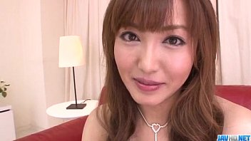 Mami Asakura feels toys over her moist pussy 12 min