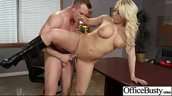Sex Tape With Round Big Tits Horny Office Girl (kagney linn karter) clip-25