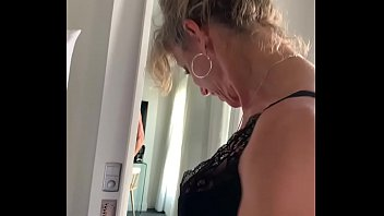 French blond MILF Marina Beaulieu gets fucked by a stranger - MySexMobile thumbnail