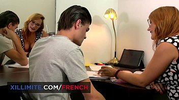 Sexiest French redhead girl Emy Russo 10 min