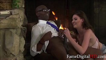 White Daughter Cant Resist Her BLACK Dads BBC