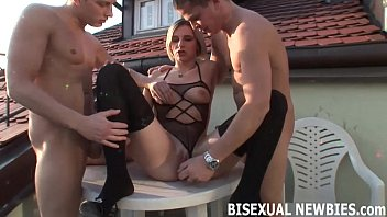 Gay dude clip I think you are ready for your first bisexual threesome