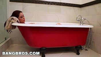 BANGBROS - Bathtub Threesome With Karlee Grey and Stepmom Monique Alexander