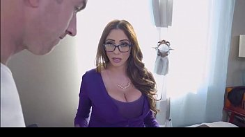 Milf fucks boy in shower by Brazzers