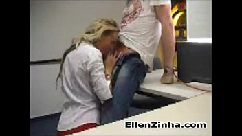 Blonde Having Sex In Her Work With The Boss