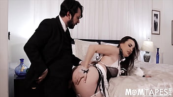 French Maid And A Butler Raise The Heat In A Hotel Room