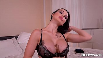 Sultry moments of pure lust with masturbating glamour babe Aletta Ocean