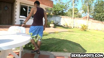 Mighty hot latina teen babe does everything 16