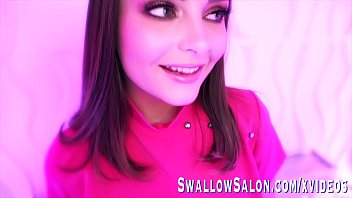 Adorable Aften Opal Sucks Off Large Cock At Swallow Salon