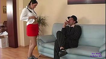 Sesso anale a casa del Boss del Quartiere 45 con Kattie
