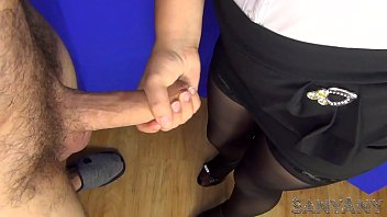 Stockings nylons amateur pictures Secretary fucked by her boss, blowjob, handjob and cumshot on ... sanyany