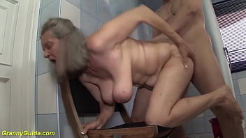 hot grandma for big boob lover
