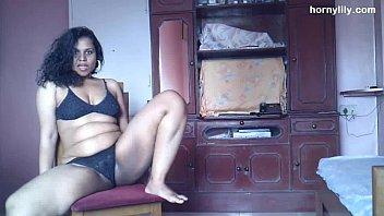 Indian Pornstar Babe Lily Stripping Sex 7 Min