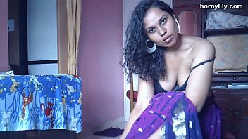 indian pornstar babe lily stripping sex