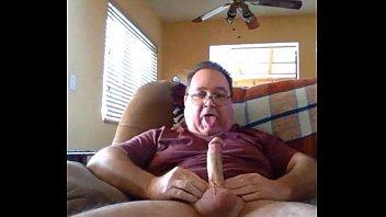 Horny daude making a hot show