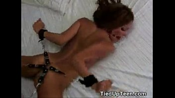 She likes it tied and from behind