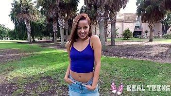 Real Teens - Vanna Bardot petite redhead teen