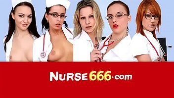 Specula self-exam of hot Czech blonde nurse Victoria Puppy 7分钟