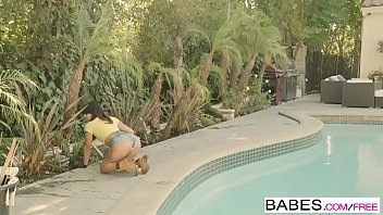 Babes - Black is Better - A Helping Hand starring Stallion and Gina Valentina clip 8 min
