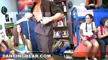 DANCING BEAR - What Happens When Male Strippers Invade A Dorm Room? Find Out!